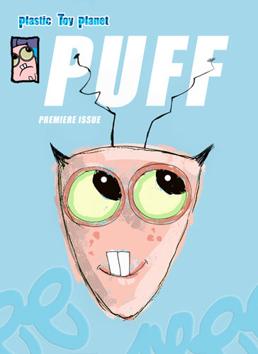 Puff the alien comics