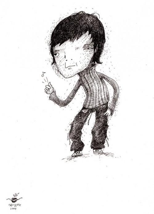 i draw myself