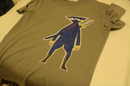Shirt print heat transfer  by thewipe