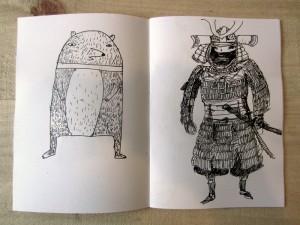 Samurai and a bear
