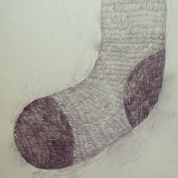 Sockz #drawing #art  #pencil #today #zine #smudge #3b #illustration #monday #havingfun #webstagram  #sketch #artoftheday #thewipe