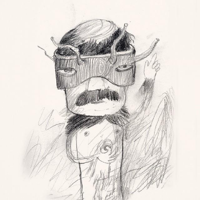 Nameless cool superhero - lol #drawing #superhero #artstagram #artist_community #sketch #doodle #haha #thewipe